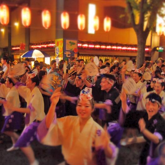 『阿波に住み阿波の踊りにあきもせず』和田やよひ/第43回 神楽坂まつり