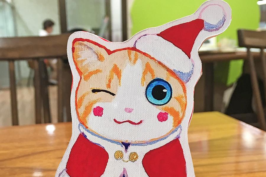 生きるのがこんなに辛い世の中に/『夜廻り猫』のクリスマス~深谷かほる作品展