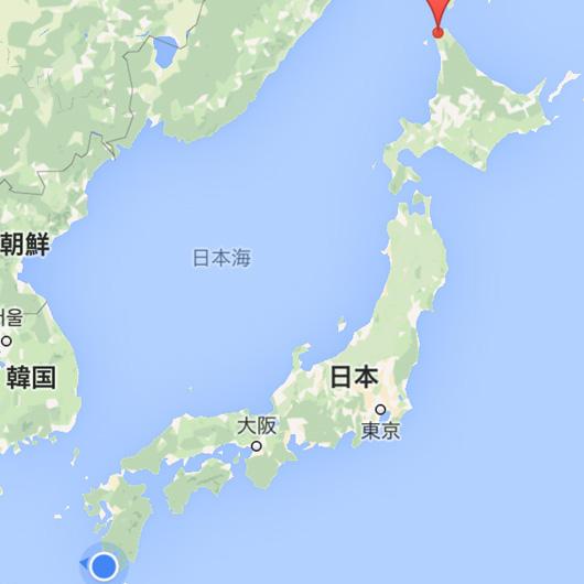 早回し対決列島!稚内-枕崎3200km二泊三日日本縦断の旅