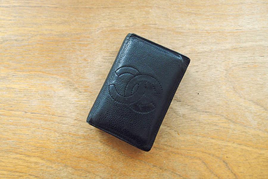 迷走の三つ折り財布初桜/名刺入れを財布に使うのはどうでしょう?