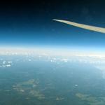 見事だねロシアの大地なにもない-ロンドン日記 その3 JAL SKY SUITE 777