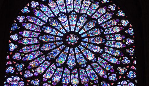 ノートルダム大聖堂と中世美術/浅野和生「ヨーロッパの中世美術 大聖堂から写本まで」